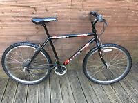 ADULT MOUNTAIN BIKE ASCENT TERRAIN WITH 18 GEARS