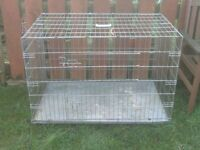 DOG CAGES SMALL,MEDIUM,LARGE,ALL WITH TRAYS £18 TO £30