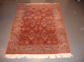 Pure new wool oriental type rug