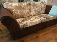 **SOLD** REDUCED **2 x 3 SEATER SOFAS FOR SALE.
