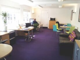 Desk Space to rent in shared Design Studio.
