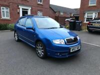 2007 Skoda Fabia VRS Special Edition Panoramic Sunroof swaps/px