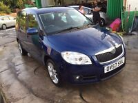 2007 SKODA ROOMSTER 3 16V 105 AUTOMATIC, SERVICE HISTORY, 1 OWNER, FINANCE AND WARRANTY