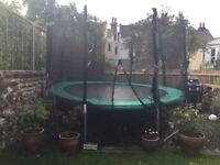12 ft Skyhigh Xtreme 360 trampoline & safety net.