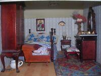 Georgian 8 room dolls house