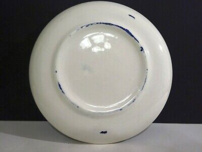 BLUE WILLOW 4 FLAT SAUCERS ONLY ROYAL CHINA 2-R - $17.99