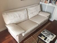ITALIAN THREE SEATER SOFA BED AND TWO SEATER SOFA