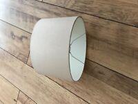 Ivory lampshade