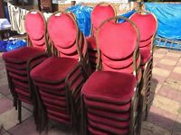 Banqueting Chairs X 159 for church/banqueting hall