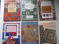 Collection of Six Patchwork Quilting Books