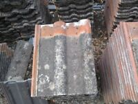 600 (approximately) reclaimed Marley double roman roof tiles