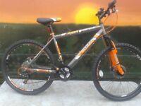 New Boss Vortex 2018 Steel HT Mountain Bike - RRP £299