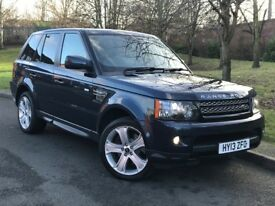 2013 Range Rover Sport 3.0 TD V6 HSE Black Edition 4X4 5dr SUV Auto (start/stop) p/x welcome