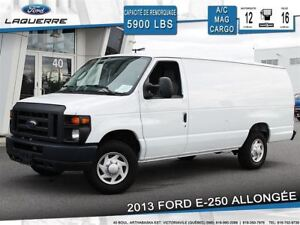 2013 Ford E-250 ALLONGÉE **AIR CLIMATISÉ*VINYLE**