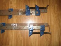 four kennedy 1050mm sash cramps excellent condition