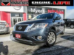 2014 Nissan Pathfinder SL, LEATHER INTERIOR, INTELLIGENT KEY, BA