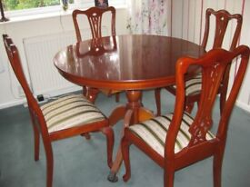 yew dining table