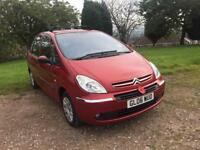 2006 CITROEN XSARA PICASSO MPV 1600 DESIRE 1600 HDI DIESEL 5 DOOR HATCH BACK LOW LOW TAX