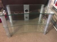 3 tier glass to stand