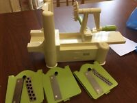 Used but great condition lurch spiralizer