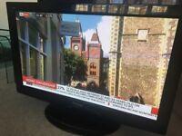 """Panasonic Viera 37"""" TV, TXP37X20B, HD Ready, HDMI x3 Freeview."""