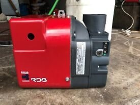 Riello RDB 90 - 120 Burner Very good condition. Can be seen working.
