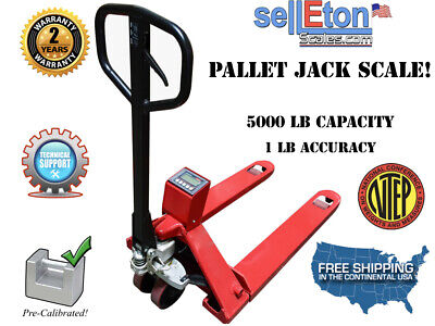 Op-918-3300 Ntep Pallet Jack Scale 3300 Lb Heavy Duty Legal For Trade