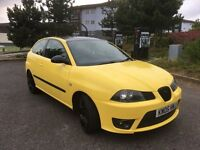 2005 seat ibiza cupra t yellow.very clean