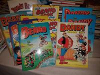 Vintage Comics and Annuals