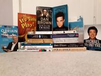 17 great books (detailed below) - all in excellent condition and something for everyone