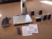 Panasonic home cinema system wireless rear speakers