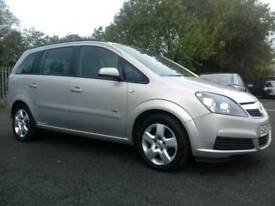 2007 Vauxhall zafira Club Family 7 Seater only 1 Former keeper long mot