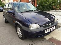 Automatic Vauxhall Corsa CDX. 1.2L SMALL ENGINE. 5 door.BRAND NEW 1 YEAR MOT. Low insurance / Fuel