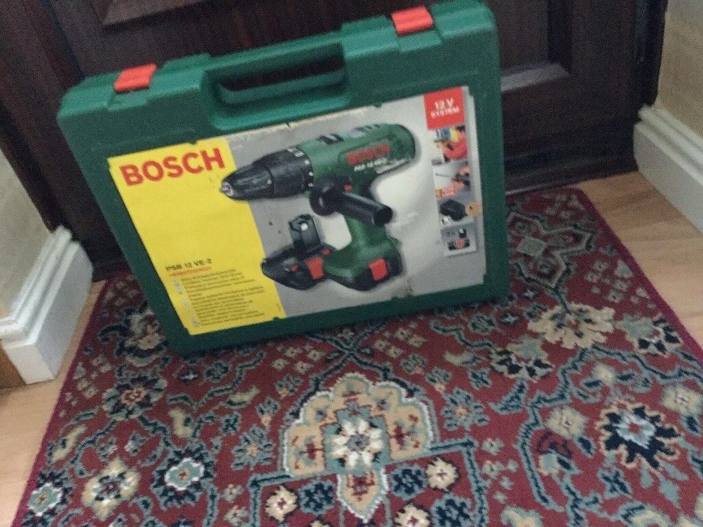 Bosch power drill 12 volts