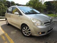 Toyota Corolla Verso Vvti T-Spirit 7 Seater Hi SPEC MPV Full Service Sharan Galaxy Zafira PART EX