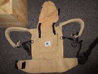Ergo Baby original carrier good used condition Phil &Teds Airlight carrier new pick up SE14 or W1G