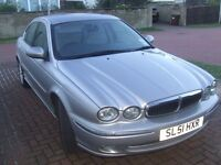 Jaguar X-Type V6 Auto. Petrol. Low Mileage.