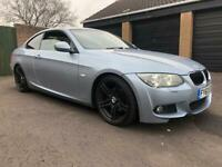 BMW 3 series 320 diesel coupe M-sport 181bhp 6 speed manual