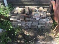 Free bricks- approx 60