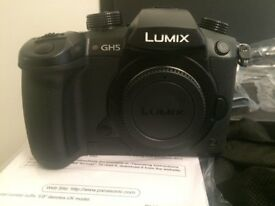 Panasonic GH5 Lumix Camera - Body Only - Immaculate Condition