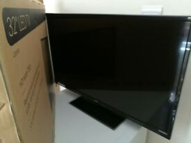 """32"""" LOGIK LED TV WITH BUILT IN FREEVIEW AND DVD PLAYER"""