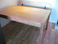 Dining Table, solid ash