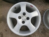 OZ racing alloys, 4 of, in good condition 100mm pcd.