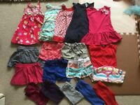 1.5 - 2 years girl clothes bundle (18 items)