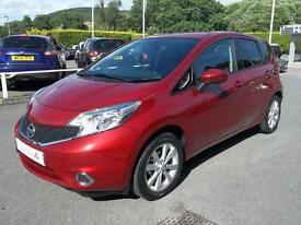 Nissan Note 1.2 DiG-S Tekna 5dr Auto (red) 2016