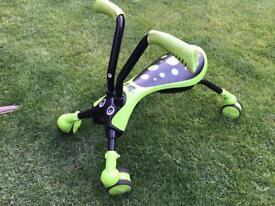Kids Scramble Bug ride along outdoor toy