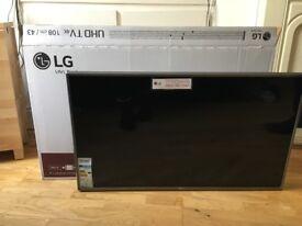 *BRAND NEW* LG 43UJ670V 4K UHD TV (2017 Model) 43UJ670V *UNUSED* *COLLECTION ONLY*