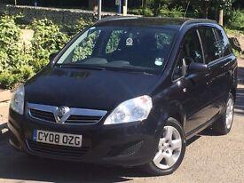 Vauxhall Zafira 1.9 CDTi Exclusiv MPV 5dr Diesel AUTOMATIC SERVICE HISTORY+7 SEATER