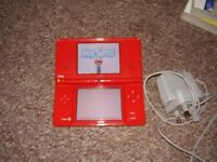 NINTENDO DSI WITH SIM GAME AND CHARGER