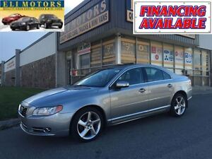 2010 Volvo S80 T6-3.0L AWD PREMIUM PKG.LEATHER SUNROOF ALLOYS.